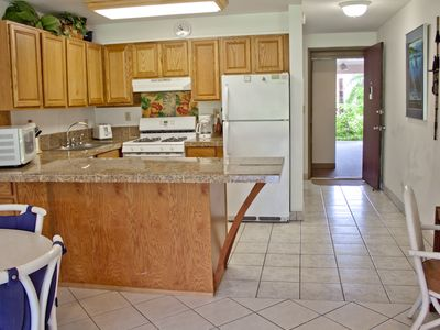 Spacious, remodeled kitchen