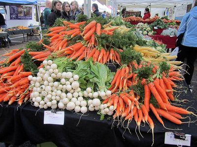 The PSU farmer's market is within walking distance.