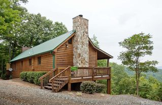 Ellijay cabin photo - Stargazer, located on the second highest privately owned peak in Georgia.