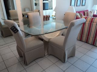 South Seas Club condo photo - New Dining Room Furniture