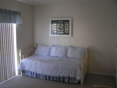 First Floor Bedroom (Trundle bed with adjoining full bathroom)