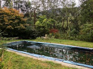Phoenicia estate photo - The salt water pool - put to sleep for the fall (new pics coming next summer!)