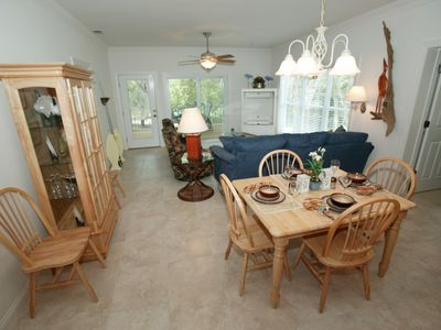 Cottage Living room/ dining area