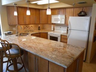 Indian Rocks Beach condo photo - Newly remodeled kitchen with great appliances
