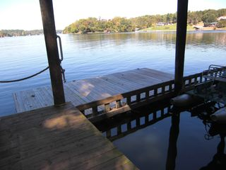 Goodview house photo - floating swim dock