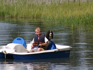 2 paddle boats are provided, kid & dog extra, fishing generally good here - Sandpoint house vacation rental photo
