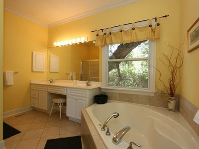 With the Master Bath