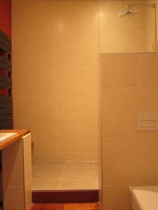 15th Arrondissement Vaugirard apartment rental - Italian Shower