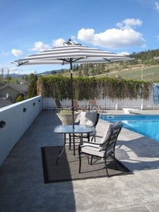 Okanagan Centre house rental - spectacular setting to enjoy some wine