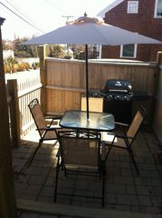 Provincetown condo photo - Patio area with gas grill