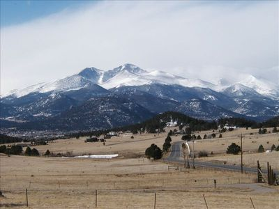 Incredible Rocky Mountain views from home