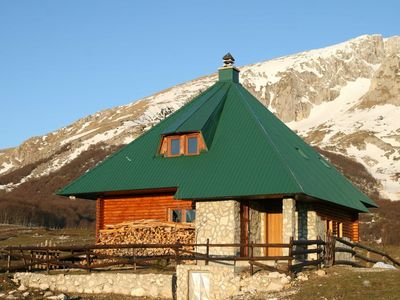 Zabljak / Durmitor chalet rental - Chalet from NE Feb-11