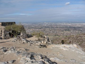 View of Phoenix metro area from South Mountain Park