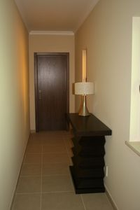 Corridor to living area