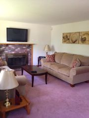"Mashpee house photo - Brand new living room furniture just delivered and brand new 43"" HDTV Plasma TV."