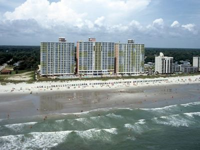 North Myrtle Beach condo rental - Nice View of the Resort