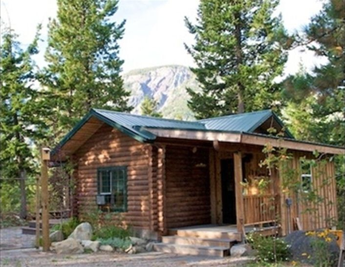 Rocky top cute and cozy log cabin vrbo for Winthrop cabin rentals