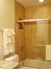 Honokowai townhome photo - Comfortable bathroom in our vacation rental condo.