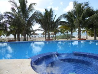Cozumel condo photo - our beach pool