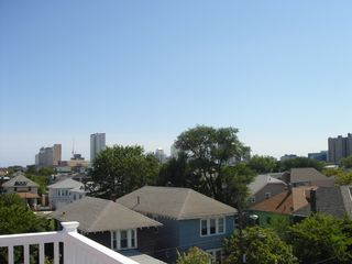 Atlantic City townhome photo - Beautiful Deck Views!