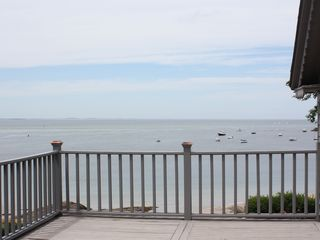 Gloucester - Annisquam house photo - A view of the ocean from the second floor deck off of one of the bedrooms.