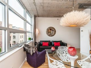 Montreal condo photo - living room