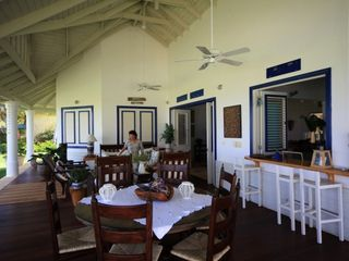 Las Terrenas villa photo - Dining area.