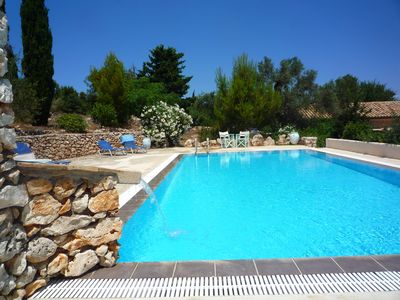 Delightful country villa, private pool, near sea  , peaceful Skinaria , Zante.
