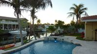 Luxury Home in Highly Desirable Boca Location with pool and canal