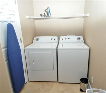 Grandview East condo rental - WASHER AND DRYER