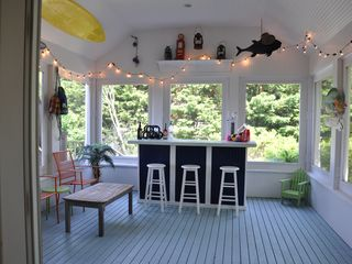 Montauk house photo - Tiki Bar. Not gonna lie this room is a lot of fun.