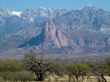 Tubac recreational vehicle rental - Views of Elephant Head and Ten Thousand Foot Peeks