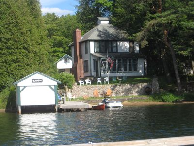 Historic Adirondack Waterfront Home
