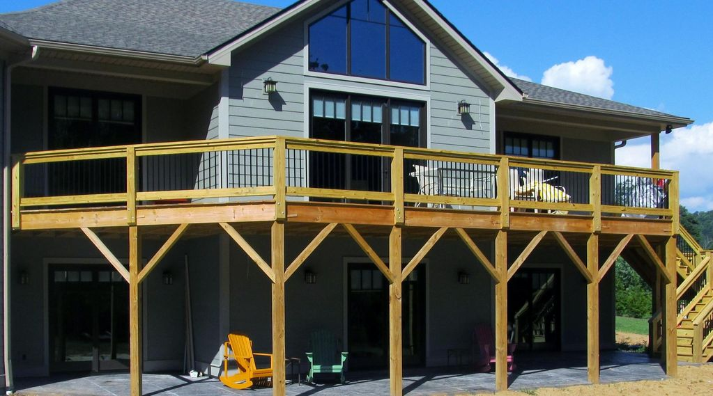 Asheville mountain views pet friendly pond 2 vrbo for Asheville cabin rentals pet friendly