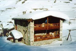 Le Fornet chalet rental - View of the chalet