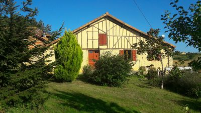 Beautiful 18th century Basque farmhouse in Armagnac near Madiran and St Mont