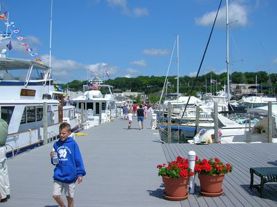 City Pier at Harbor Springs