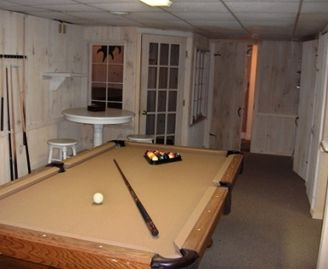 Pool Table, Hot Tub Room, Full Bath