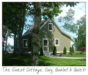 The cottage from the road - Harpswell cottage vacation rental photo