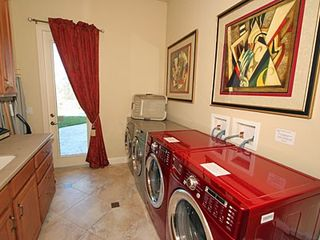 Formosa Gardens villa photo - Laundry, 2 washers, 2 dryers, 2 sinks 2 irons
