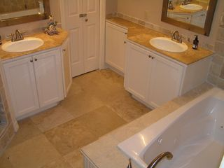 Private Master Bath, Jetted tub, Marble Shower