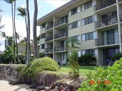 Maalaea condo rental - #301 is 3rd floor on the left