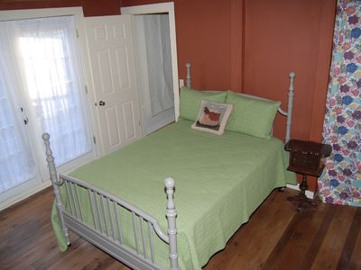 Valle Crucis cottage rental - Bedroom two downstairs.