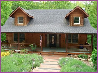 Massanutten house rental - Summertime at Antlers Crossing.