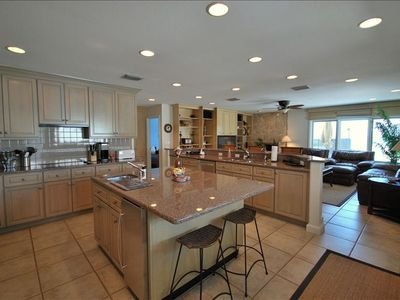 Kitchen - Open Kitchen, Large Center Island, Ice Maker