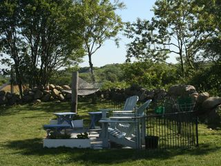 backyard - Block Island house vacation rental photo
