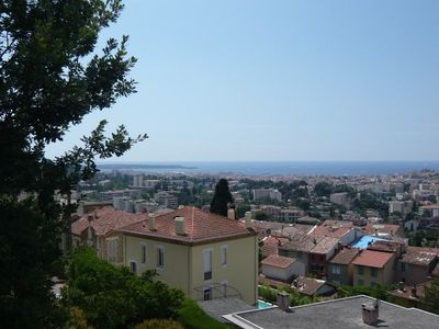 CANNES - CANNES - PANORAMIC SEA View and Bay Cannes, Fresh, Quiet, € 300/800