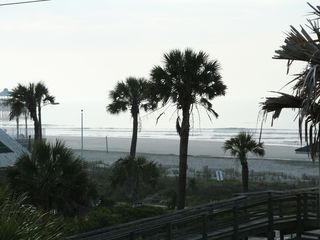 Beach across the street. - Folly Beach house vacation rental photo