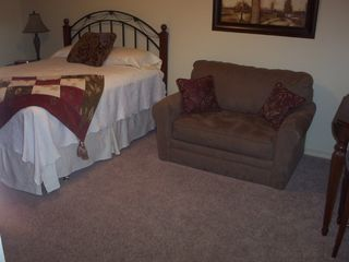 Branson condo photo - Couch & Bed in 1B