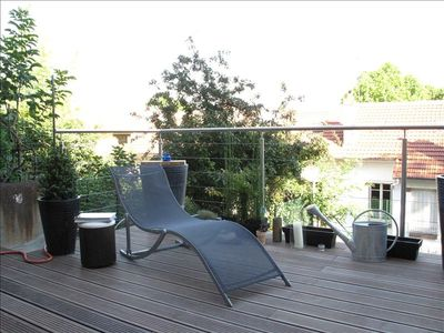 Terrace in Paris